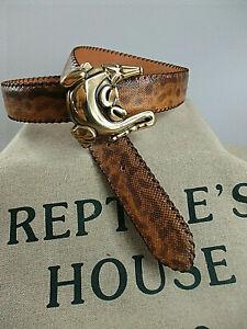 Original Vintage Reptile's House Gürtelschliesse Schnalle  neu 4,0 cm Breite