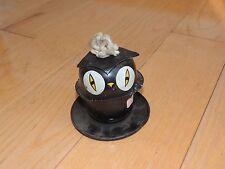 Halloween Tin Owl Oil Lantern Lamp Vintage 1950's RARE  (e698