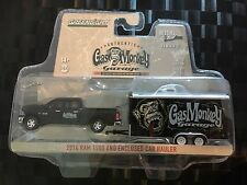 GREENLIGHT Hollywood Hitch & Tow - GAS MONKEY - 2014 Ram 1500 & Trailer - 1:64