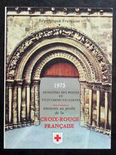 Sello FRANCIA / FRENCH stamp - Yvert Tellier Carnet Cruz Rojo n°2022 (Cyn25) D
