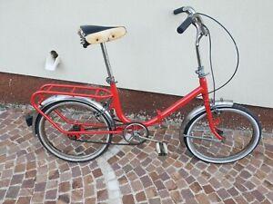 bicicletta pieghevole tipo graziella vintage ruota 20 pollici