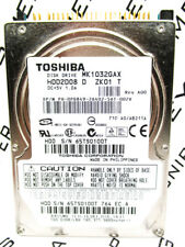 Toshiba 100GB MK1032GAX IDE (HDD2D08 D ZK01 T) Laptop Hard Drive WIPED & TESTED!