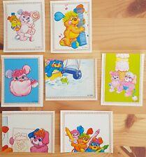 Popples Vintage 1987 Stickers Panini
