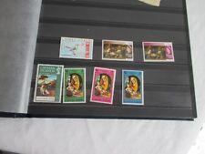 îles Cayman Islands timbres colonies royaume uni x 7 avec et sans charnières