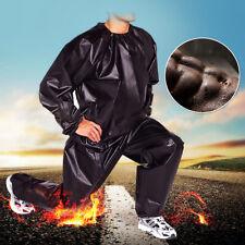 Heavy Duty Sweat Sauna Suit Palestra Fitness Esercizio Grasso Bruciare