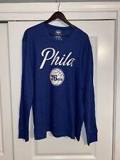 47 Brand Philadelphia 76ers Phila Long Sleeve 2XL