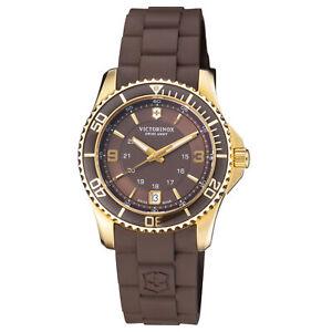 Victorinox Swiss Army Women's 241615 Maverick Analog 34mm Brown Dial Watch