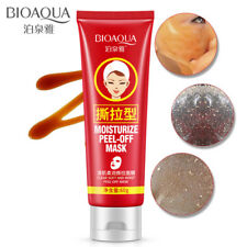 BIOAQUA Moisturize Peel Tear Off Mask Mild Oat Blackheads Removal Natural Herbal