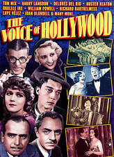 The Voice of Hollywood, , New DVD, Tom Mix, Harry Langdon, Delores Del Rio, Bust