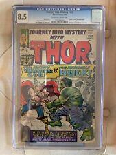 Journey Into Mystery #112 - CGC 8.5 - Origin of Loki! Thor vs Hulk!