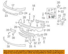 GM OEM Front Bumper-Mount Bracket Bolt 11519154