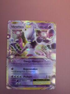 POKEMON CARD  Mewtwo EX 52/108 XY Évolutions PROXY FLASHFIRE