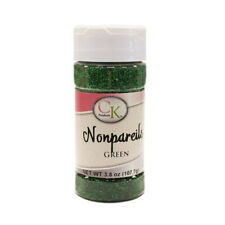 CK Products Green Nonpareils, 3.8 oz.