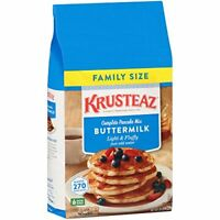 Krusteaz Buttermilk Complete Pancake Bag Mix Just Add Water Family Pack