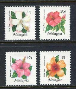 24645) MALAYSIA 1984 MNH** Nuovi** Flowers - Fiori 4v
