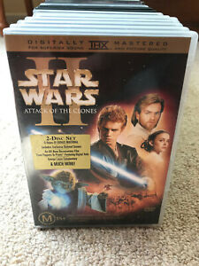 DVD : Star Wars Attack Of The Clones 2 DISC