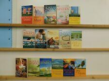 Nicholas Sparks 16 Bücher Romane romantische Romane Liebesromane
