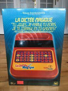 La Dictée Magique, Speak & Spell, Texas Instruments, 1981, Sous Blister,