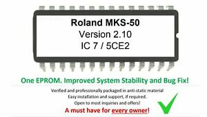 Roland MKS-50 - Version 2.10 Eprom Firmware Upgrade Update OS Eprom for MKS50