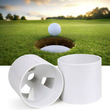 Plastic Golf Green Hole Cup Practice Aids Putting Putter BackyardTraining
