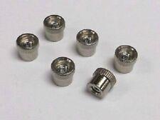 88-2 Accessory Terminal Nuts, Lionel, O27 and O, 6 Pcs