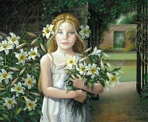 ANGEL CHILD by PATI BANNISTER  Signed and Numbered