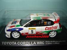 TOYOTA COROLLA WRC # 5  RALLYE MONTE CARLO 1998 C. SAINZ - L. MOYA au 1/43°