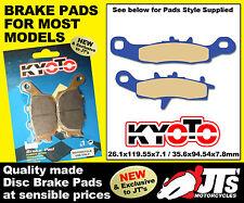 FRONT DISC PADS BRAKE PADS KAWASAKI KVF700 A1/B6F 4x4 (Prairie) (04 / 08)