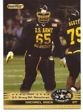 MICHAEL OHER 2010 U.S. ARMY HIGH SCHOOL ALL-AMERICAN ROOKIE CARD! RAVENS!!!