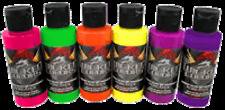 Createx Wicked Fluorescent Set 6 x 2oz (60ml)
