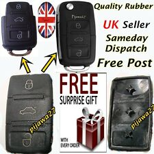 3 Button RUBBER PAD 4 Key Remote Fob 4 VW Passat Golf Polo T4 T5 Bora Sharan R32