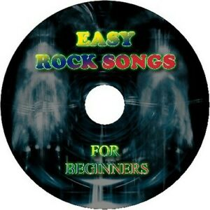 EASY ROCK SONGS FOR BEGINNERS GUITAR TAB CD TABLATURE GREATEST HITS BEST OF