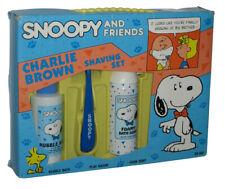 Peanuts Snoopy & Friends Charlie Brown Kids Play Razor Shaving Bubble Bath Set
