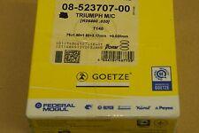 TRIUMPH T140 BONNEVILLE TR7 TIGER 0.020 OVERSIZE PISTON RING SET AE FEDERALMOGUL