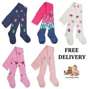 Yo! Baby GIRLS Cotton Tights Leg Warmers Soft 9 - 18 Months Toddler Pants NEW