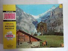 Vintage Tuco Puzzle 1000 Triple Thick Stockhorn Peak Switzerland Series 2500-C