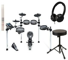 Alesis Command Mesh Kit Electronic Drum Kit with Throne, Headphones, Drum Sticks