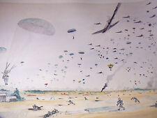 US PARATROOPER WWII WW2 AIRBORNE 17th OPERATION VARSITY Print  507 PIR 1945!