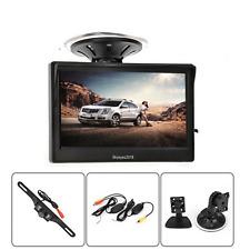 """5"""" Car TFT LCD Monitor Display+Wireless Rear View Reverse Backup Camera Kits"""