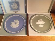 Lot of 2 Wedgwood Mother's Day Collector Plates 1972 & 1973 Original Boxes