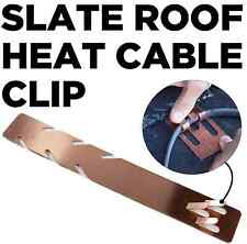 Copper Clip for Mounting Heat Cable & Heat Tape to Slate or Cedar Roofs