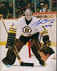 Gerry Cheevers Bruins Signed 8x10 Photo Autograph Auto Mounted Memories