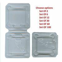 Computer CPU ClamShell Tray Case Container Intel 478 775 1150 1155 1156 (lot of)