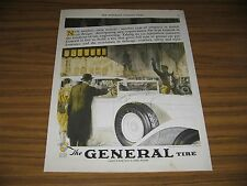 1928 Print Ad The General Tire Built in Akron,OH Balloon Tires