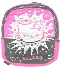 """Hello Kitty Quilted Puffer Kids 12"""" Backpack New SALE"""