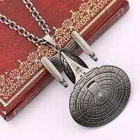 Star Trek Enterprise Alloy Spacecraft Model Necklace Cool Jewellery Necklace