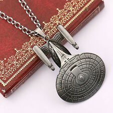 Star Trek Enterprise Alloy Spacecraft Model Necklace High Quality Necklace