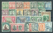 Southern Rhodesia range of 25 used including 1937 Definitive set