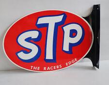 Stp Oil Flange Sign Gas Station Hot Rod Drag Racing Modern Retro