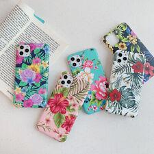 Women Floral Elegant Soft Slim Phone Case Cover For iPhone11Pro XsMax 8Plus XR